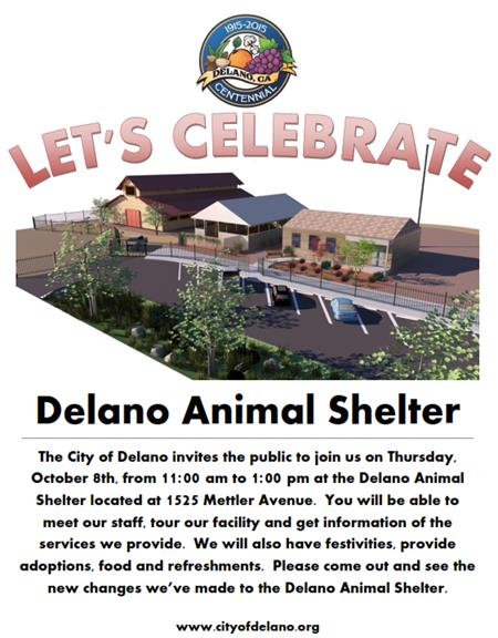 Delano Animal Shelter